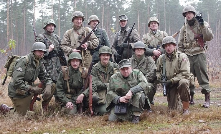 Five-O-Deuce, 502nd PIR, 101st Airborne - Manewry na poligonie w Jagodnem - listopad 2011
