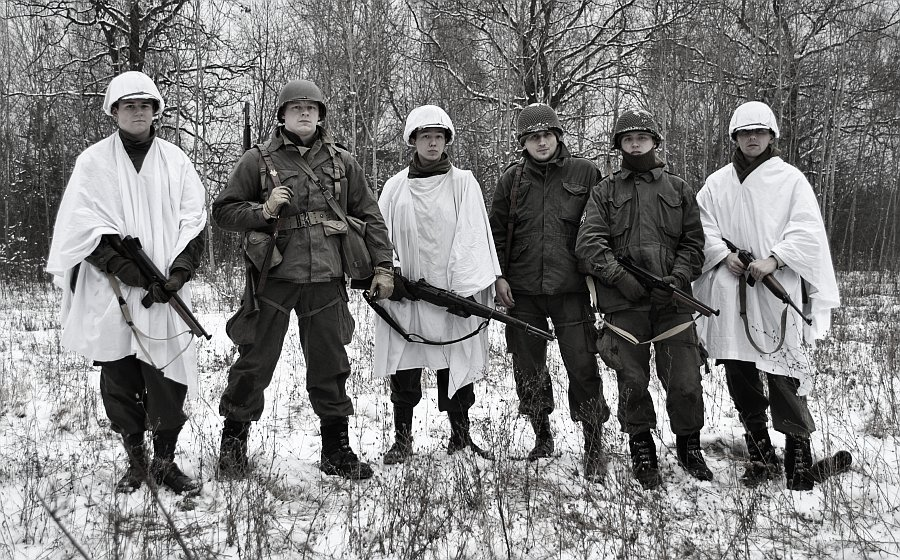Five-O-Deuce - Manewry  w Janówku Pierwszym - grudzień 2012