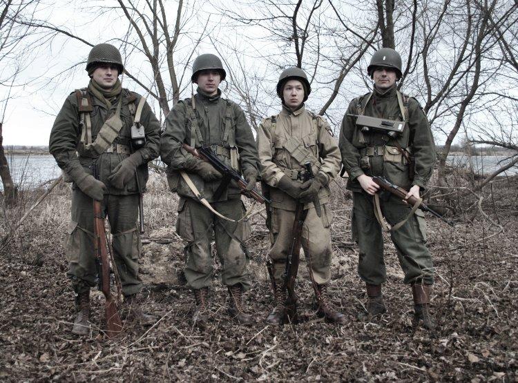 Five-O-Deuce, 502nd PIR, 101st Airborne - Manewry w Janówku Pierwszym - luty 2012