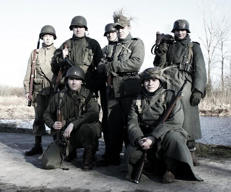 Five-O-Deuce, 502nd PIR, 101st Airborne - Manewry w Janówku Pierwszym - marzec 2012