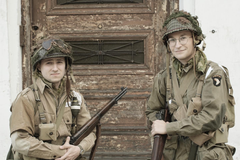 Wystawa D-Day z COBI