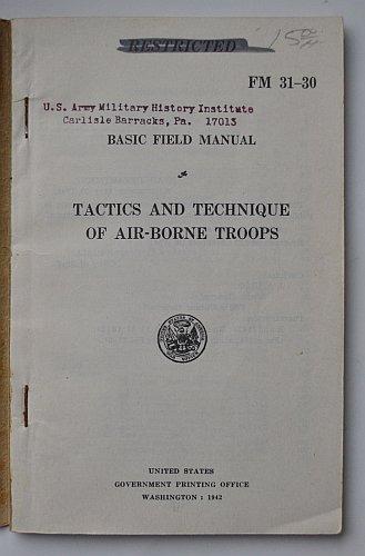 FM 31-30 Tactics and Technique of Air-borne Troops